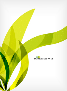 Bright colorful business flowing shapes design template. Futuristic wavesのイラスト素材 [FYI03093914]