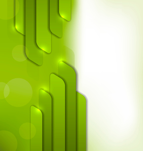 Illustration abstract green background, trendy colorful card - vectorのイラスト素材 [FYI03096362]