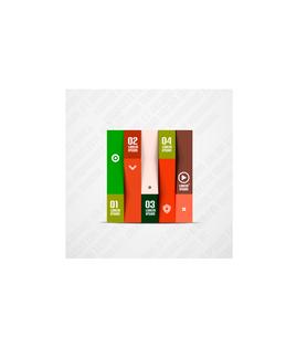 Modern minimal infographicsのイラスト素材 [FYI03096411]