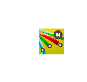 Glossy vector stripes steps optionsのイラスト素材 [FYI03096456]