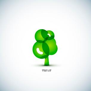Eco green tree conceptのイラスト素材 [FYI03096474]