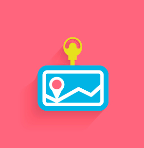 Vector navigation icon modern flat designのイラスト素材 [FYI03096614]