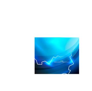 Lightning abstract vector design templateのイラスト素材 [FYI03096658]