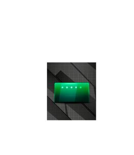 Hi-tech glossy vector futuristic shapesのイラスト素材 [FYI03096715]