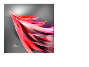 Colorful stylized parrot tail modern backgroundのイラスト素材 [FYI03096721]