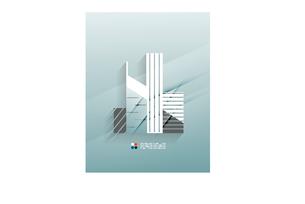 Skyscraper 3d paper designのイラスト素材 [FYI03096738]