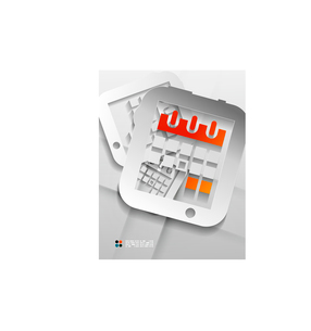 Vector calendar / organizer paper designのイラスト素材 [FYI03096753]