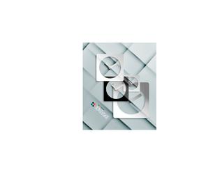 Vector time paper modern clock designのイラスト素材 [FYI03096782]