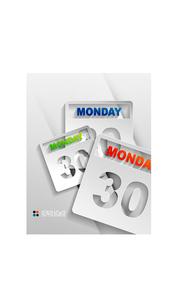Vector calendar / organizer paper designのイラスト素材 [FYI03096789]