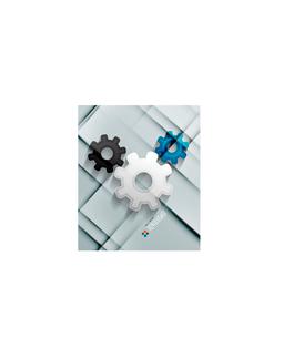 Vector paper gear modern designのイラスト素材 [FYI03096878]