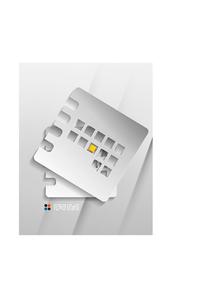 Vector calendar / organizer paper designのイラスト素材 [FYI03096914]