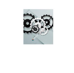 Vector paper gear modern designのイラスト素材 [FYI03096962]