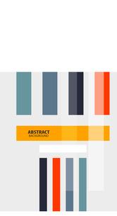 Colorful geometrical modern art minimal templateのイラスト素材 [FYI03097000]