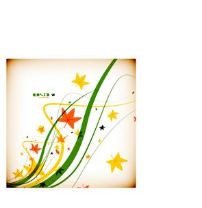 Colorful geometrical modern art minimal templateのイラスト素材 [FYI03097013]