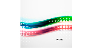 Abstract background for business presentation, technology concept, motion / flowing / light / wave /のイラスト素材 [FYI03097016]
