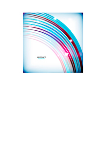 Rainbow flowing swirl colorful abstract background for technology or businessのイラスト素材 [FYI03097149]