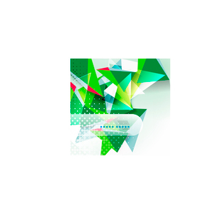 Vector green and blue triangle geometric shape backgroundのイラスト素材 [FYI03097169]