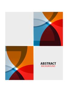 Colorful geometrical modern art minimal templateのイラスト素材 [FYI03097180]