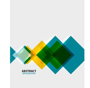 Colorful geometrical modern art minimal templateのイラスト素材 [FYI03097234]