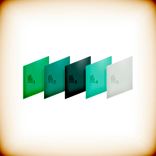 Modern geometrical abstract backgroundのイラスト素材 [FYI03097253]