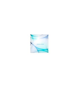 Abstract blue wave blur vector backgroundのイラスト素材 [FYI03097347]