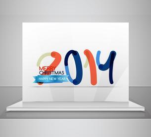 2014. Happy New Year design templateのイラスト素材 [FYI03097380]