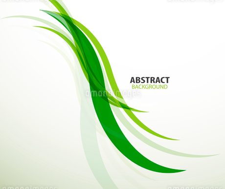 Green eco lines abstract backgroundのイラスト素材 [FYI03097392]