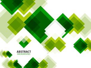 Green modern geometrical abstract backgroundのイラスト素材 [FYI03097398]