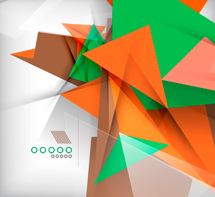 Abstract geometric shape backgroundのイラスト素材 [FYI03097404]