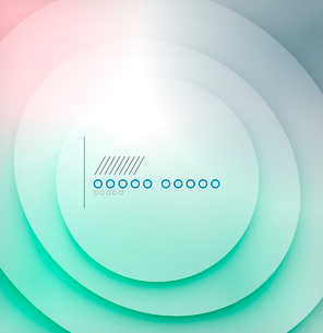 Abstract blue wave blur vector backgroundのイラスト素材 [FYI03097416]