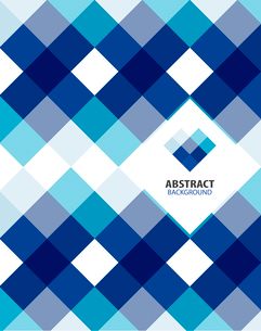 Blue modern geometrical abstract backgroundのイラスト素材 [FYI03097501]
