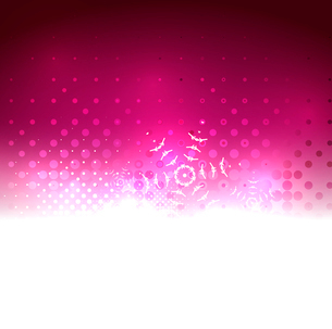Shiny bright abstract snowflake Christmas backgroundのイラスト素材 [FYI03097524]