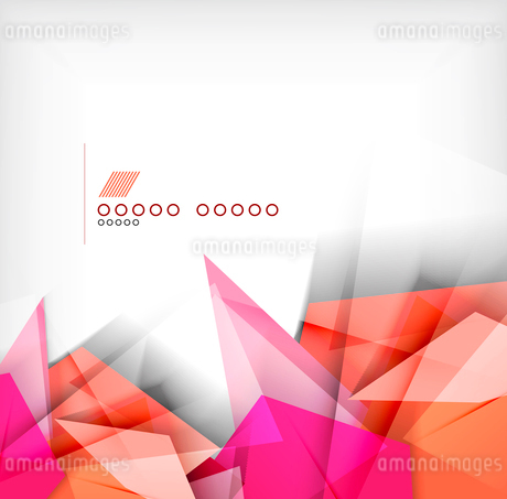 Geometric shapes abstract backgroundのイラスト素材 [FYI03097529]