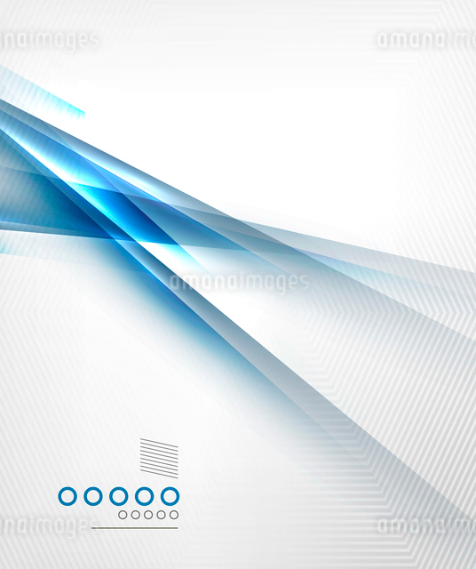 Blue light shadow straight lines design. For business templates, technology backgrounds, presentatioのイラスト素材 [FYI03097643]