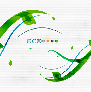 Green eco nature minimal floral concept | flying leaves | nature flying leaves templateのイラスト素材 [FYI03097665]