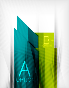Business presentation stripes abstract background. For infographics, business backgrounds, technologのイラスト素材 [FYI03097925]