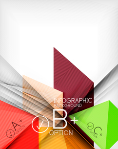 Business presentation stripes abstract background. For infographics, business backgrounds, technologのイラスト素材 [FYI03097927]