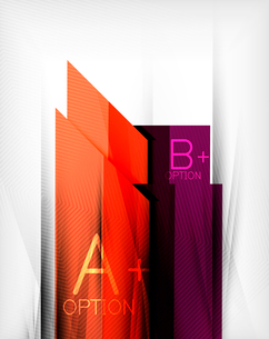 Business presentation stripes abstract background. For infographics, business backgrounds, technologのイラスト素材 [FYI03097928]