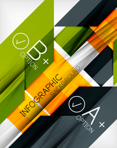 Business presentation stripes abstract background. For infographics, business backgrounds, technologのイラスト素材 [FYI03097929]