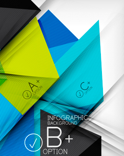 Business presentation stripes abstract background. For infographics, business backgrounds, technologのイラスト素材 [FYI03097931]