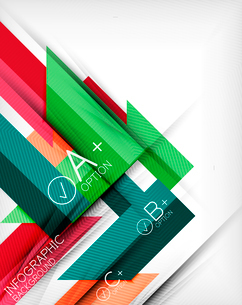 Business presentation stripes abstract background. For infographics, business backgrounds, technologのイラスト素材 [FYI03097932]