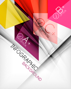 Business presentation stripes abstract background. For infographics, business backgrounds, technologのイラスト素材 [FYI03097939]