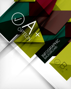 Business presentation stripes abstract background. For infographics, business backgrounds, technologのイラスト素材 [FYI03097940]