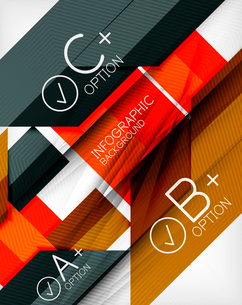 Business presentation stripes abstract background. For infographics, business backgrounds, technologのイラスト素材 [FYI03097943]