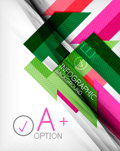Business presentation stripes abstract background. For infographics, business backgrounds, technologのイラスト素材 [FYI03097945]