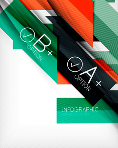 Business presentation stripes abstract background. For infographics, business backgrounds, technologのイラスト素材 [FYI03097947]