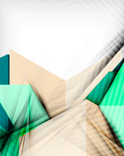 Geometrical shape abstract background. For business background | numbered banners | business lines |のイラスト素材 [FYI03097993]