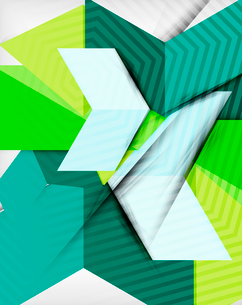 Geometrical shape abstract background. For business background | numbered banners | business lines |のイラスト素材 [FYI03097999]