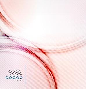 Vector textured elegant smooth swirlのイラスト素材 [FYI03098098]