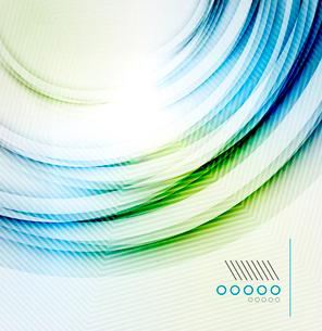 Vector textured elegant smooth swirlのイラスト素材 [FYI03098111]